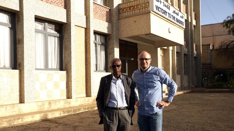 Oliver Ramme trifft den eritreischen Politiker Yemane Gebreab. Er ist der engste Berater von Präsident Isayas Afewerki.