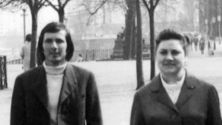 Ion und Anita 1973 in Dresden