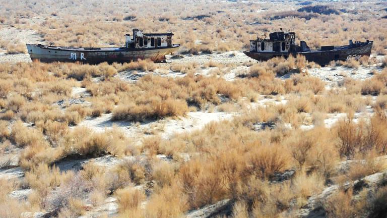 Schiffswrack am Aralsee, Mujnak