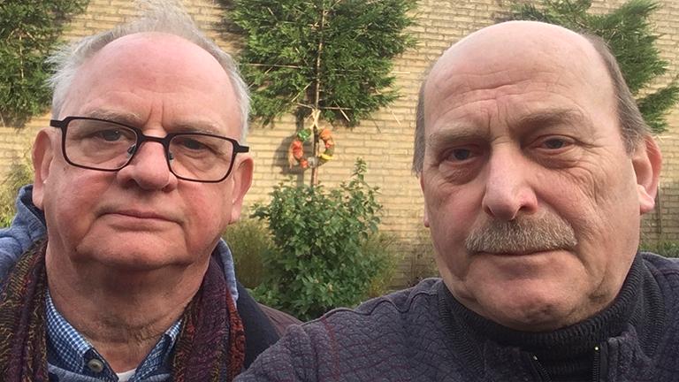 Willem und Gie, sind Cousins, wohnen im gleichen Dorf. Aber einer ist Holländer, der andere Belgier.