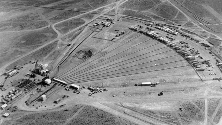 Das AEC-Gelände in Nevada
