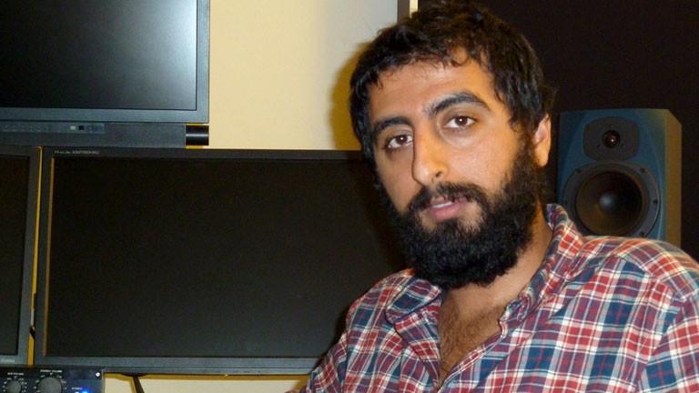 Der syrische Journalist Amer Matar.