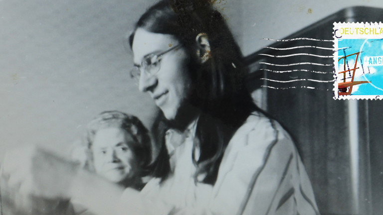 Jürgen auf schwarz weiß Fotografie