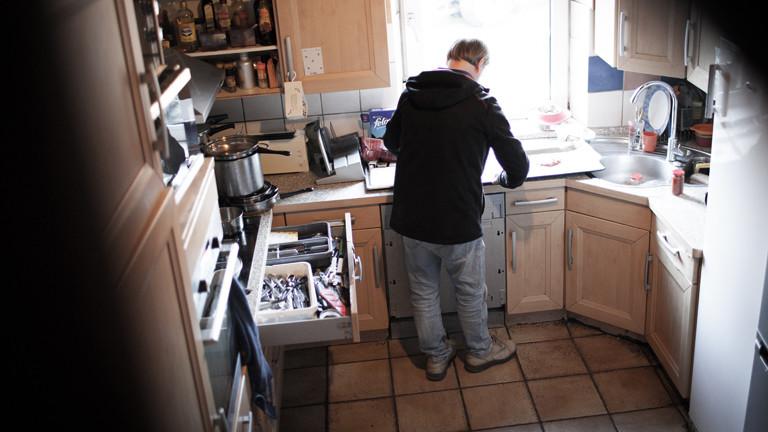 Detlef in seiner Küche