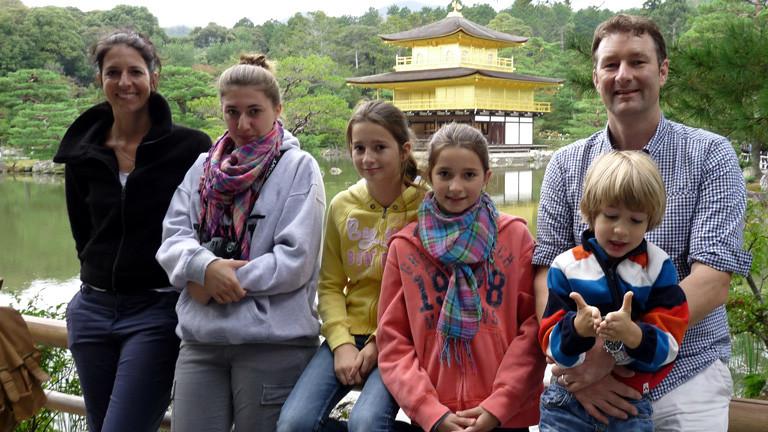 Familie Hutzenlaub in Japan