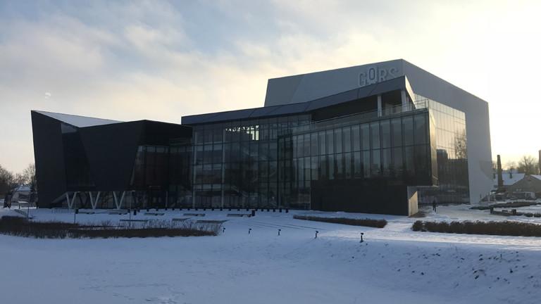 Das Konzerthaus in Rezekne, Lettland
