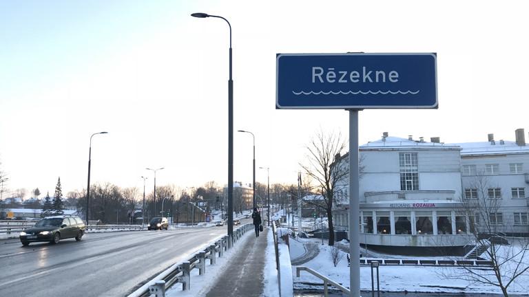 Rezekne in Lettland