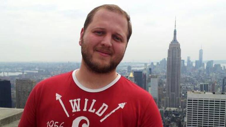 Claus in New York auf Sight Seeing Tour