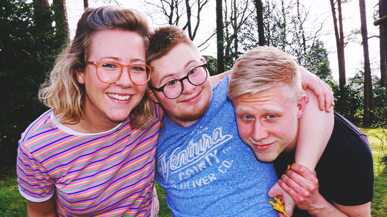 Tabea, Marian und Tillmann Mewes