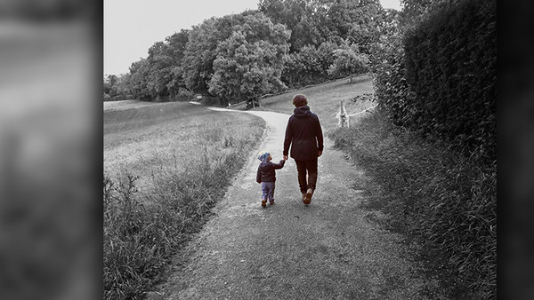 Lea und ihr Sohn Jakob