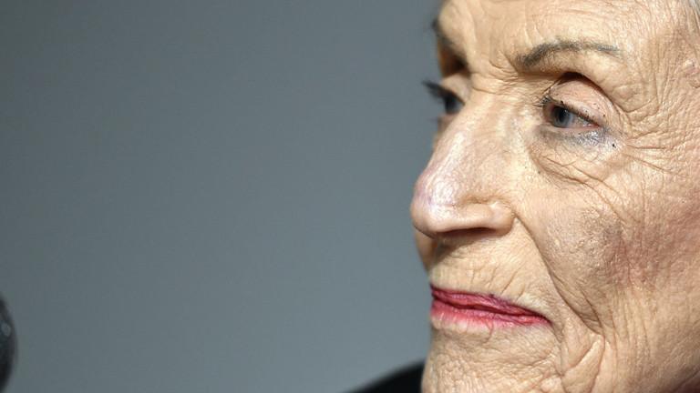 Die ehemalige französische Spionin Marthe Cohn