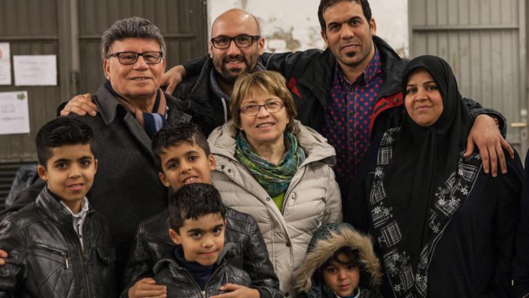 Nail Al Saidi, seine Familie und die irakische Verwandschaft.