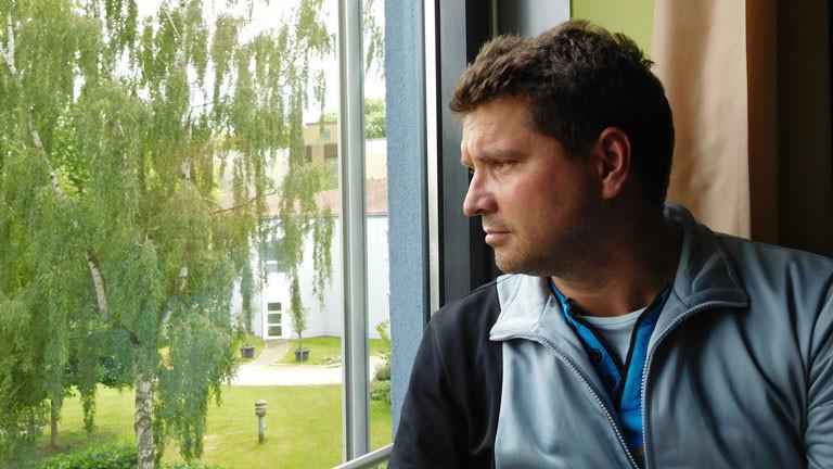 Jürgen Weber wurde vom Blitz getroffen