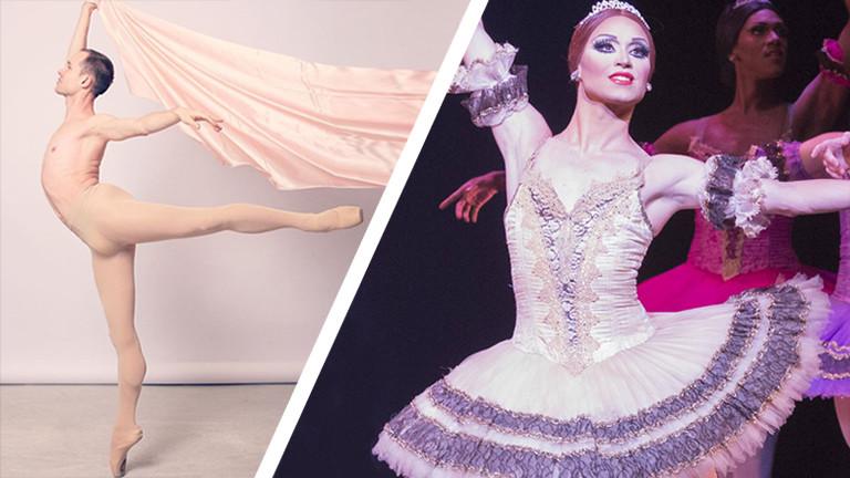 Chase Johnsey arbeitet als Ballerina.