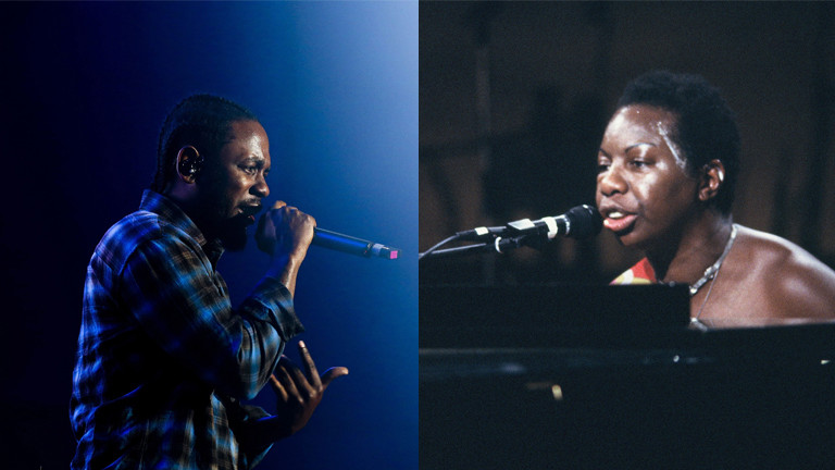 Kendrick Lamar und Nina Simone