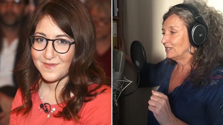 Deborah Feldman und Simone Bundschu