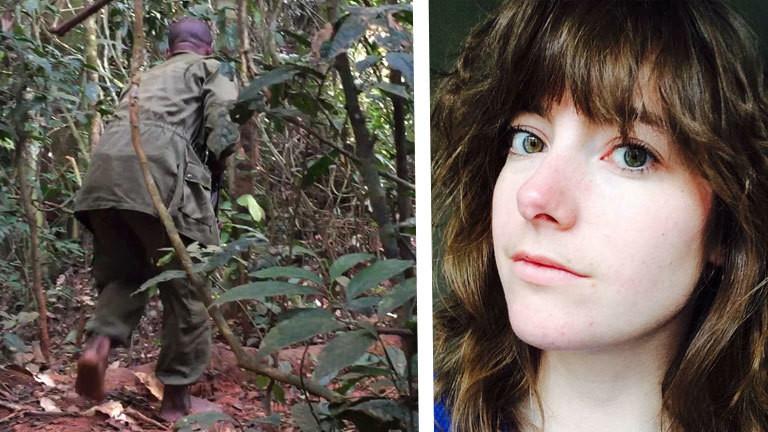Die holländische Journalistin Lisa Dupuy ist bei einer Recherche im Kongo im Dschungel überfallen worden.
