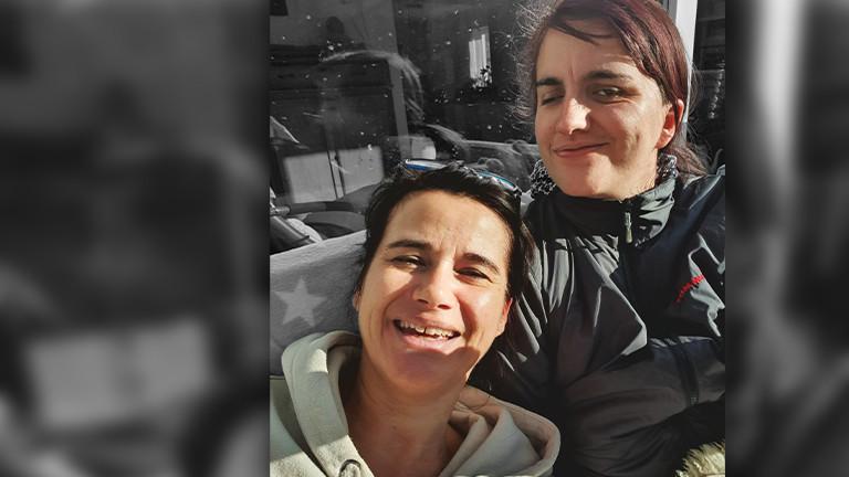 Susanne Benner und ihre Tochter Lisa