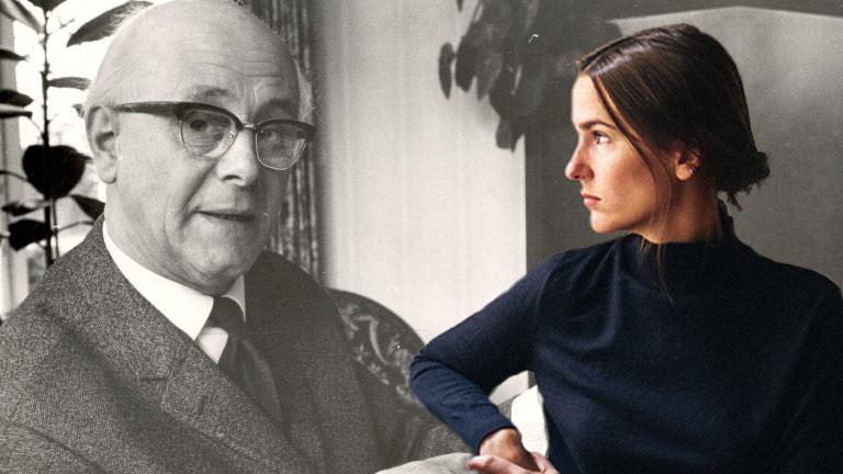Lilli Heinemann und ihr Opa Wilhelm Hamelmann