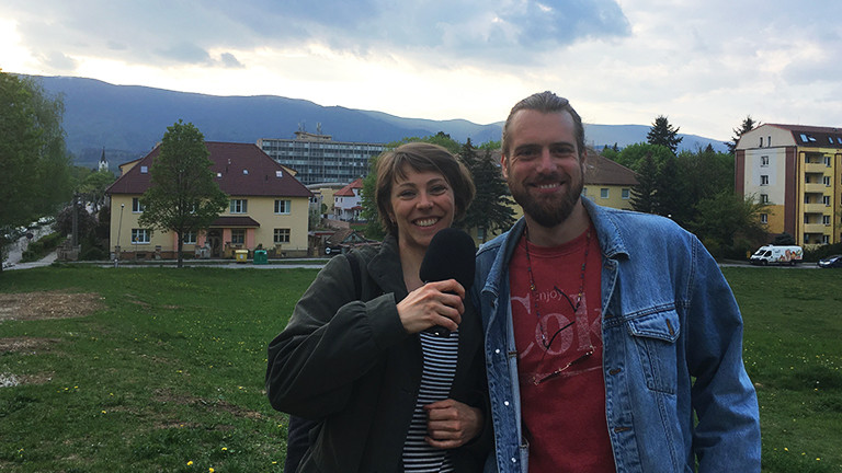 Carolin Haentjes und Malte Sebastian