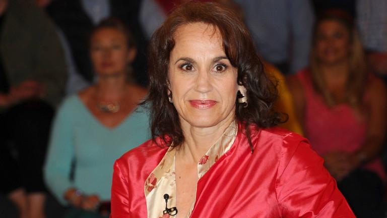Gerichtsreporterin Heike Borufka 2016 in einer Talkshow