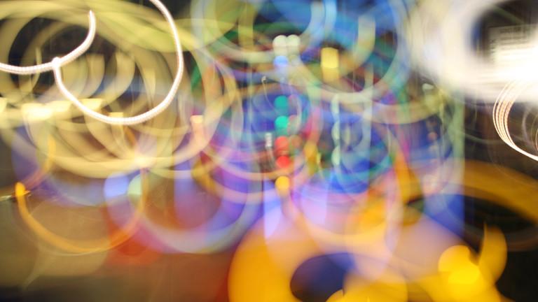 Ein psychedelisches Bild