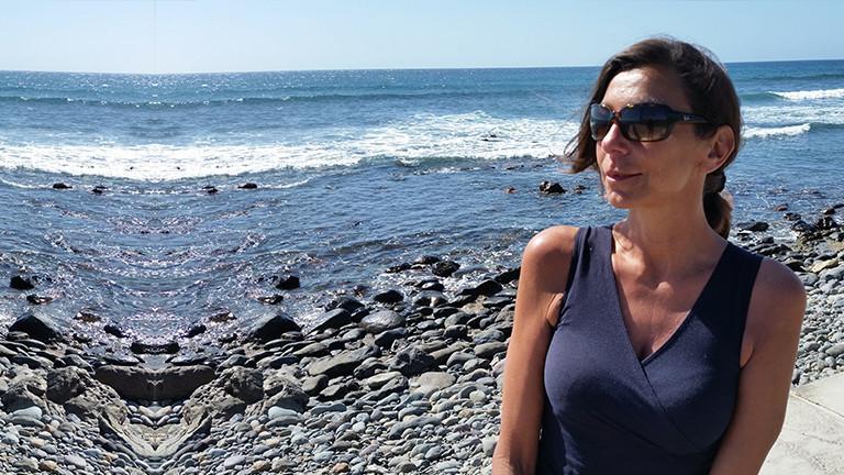 Andrea am Meer