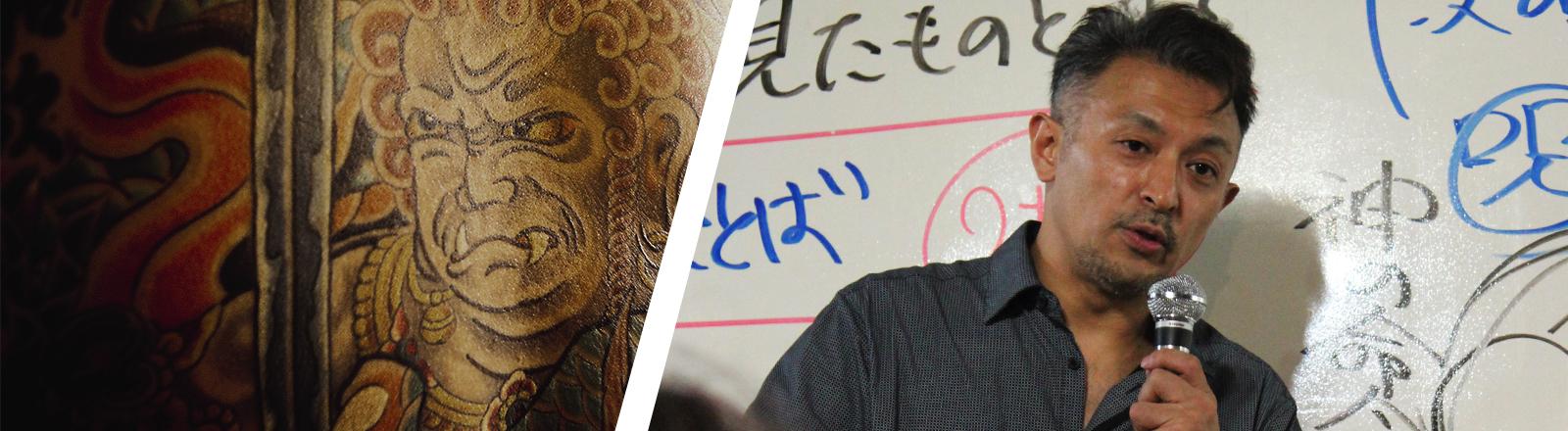 Tatsuya Shindo ist ehemaliger Yakuza und heute Pfarrer