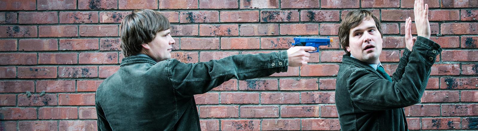 Überfall mit Pistole