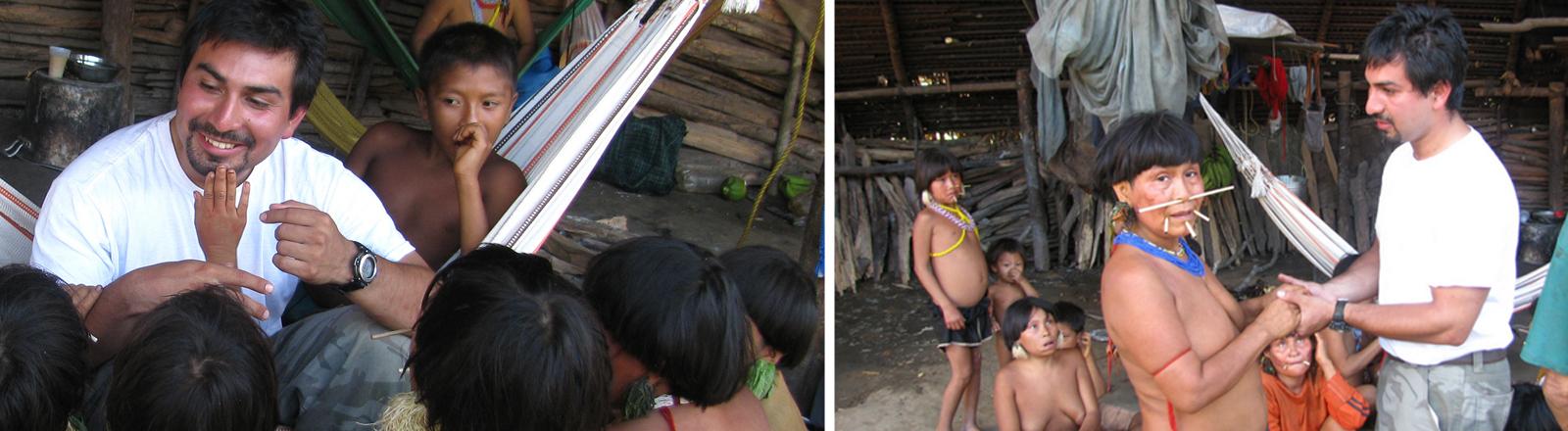 David Good trifft nach 20 Jahren zum ersten Mal seine Mutter bei den Yanomami wieder