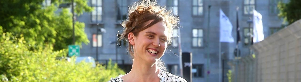 Emily Cox beim Photocall in Berlin anlässlich des neuen Streamingdienst JOYN im eWerk am 18.06.2019.