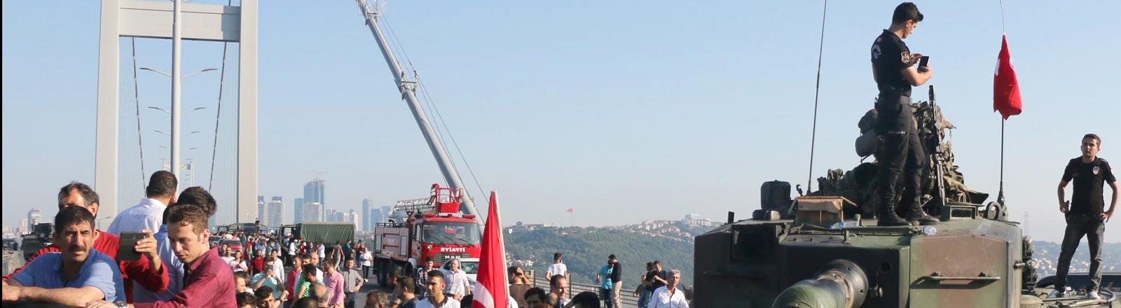 Putschversuch des Militärs in der Türkei 2016.