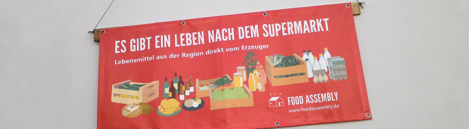 Lokale Erzeugnisse auf einem Markt.