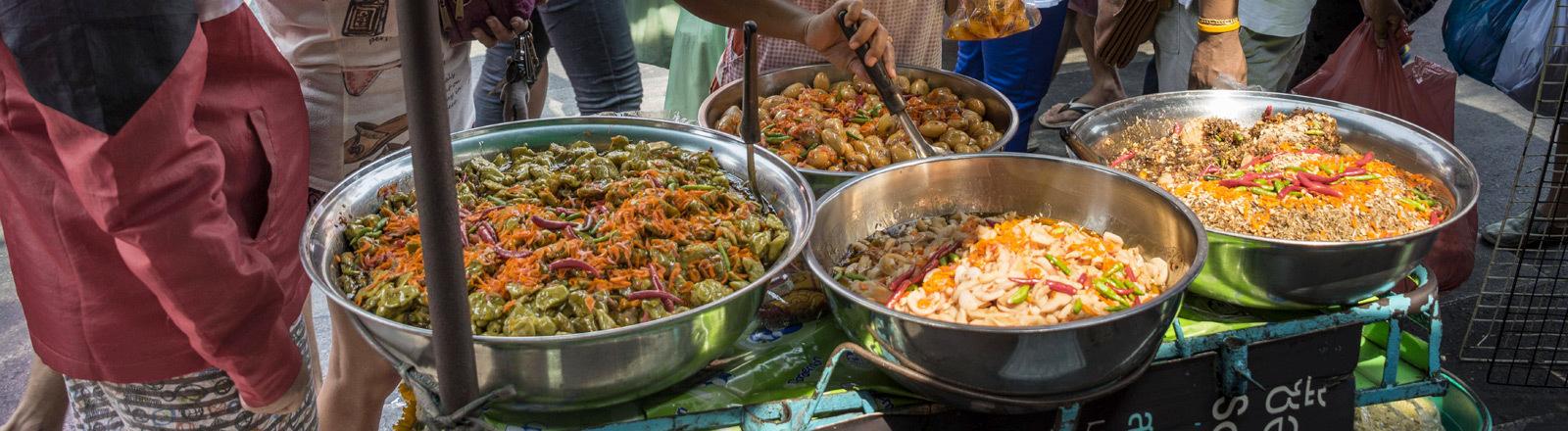 Garküchen in Thailand.
