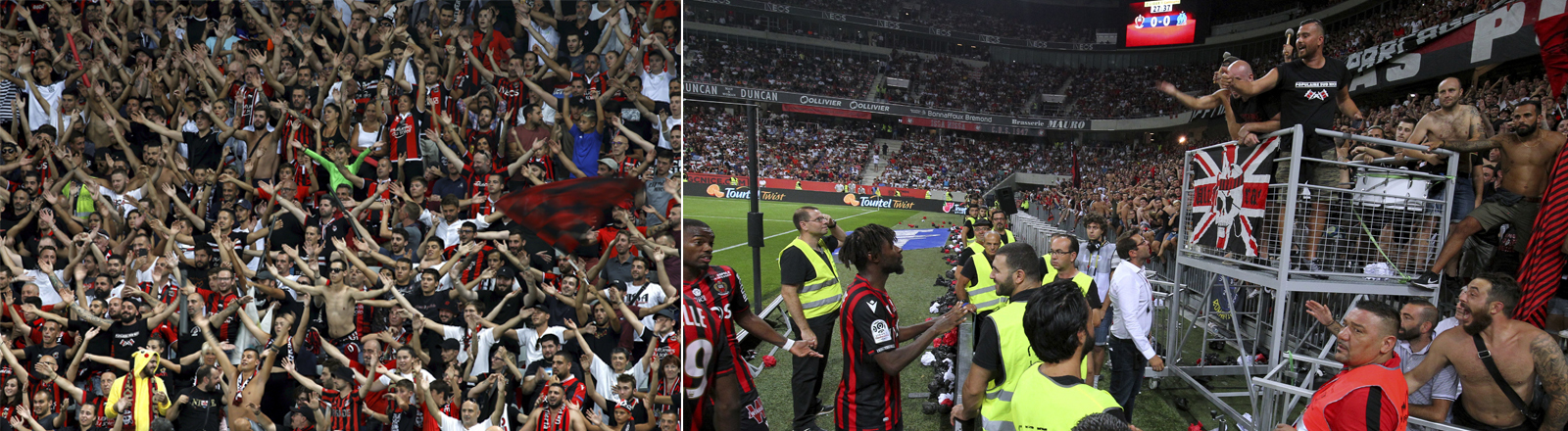 Spiel OGC Nice gegen Olympique Marseille: Unterbrechung wegen homophober Gesänge