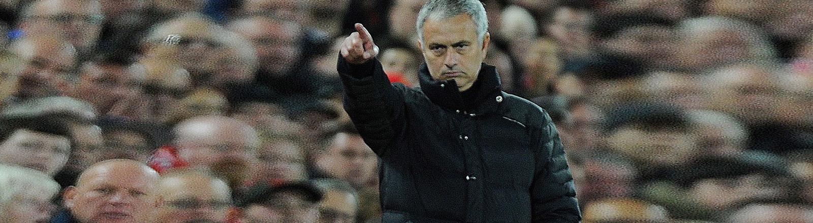 Fußballtrainer Jose Mourinho