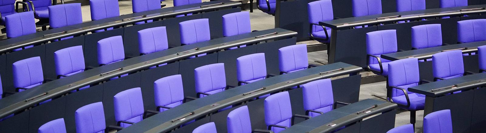 Der leere Bundestag