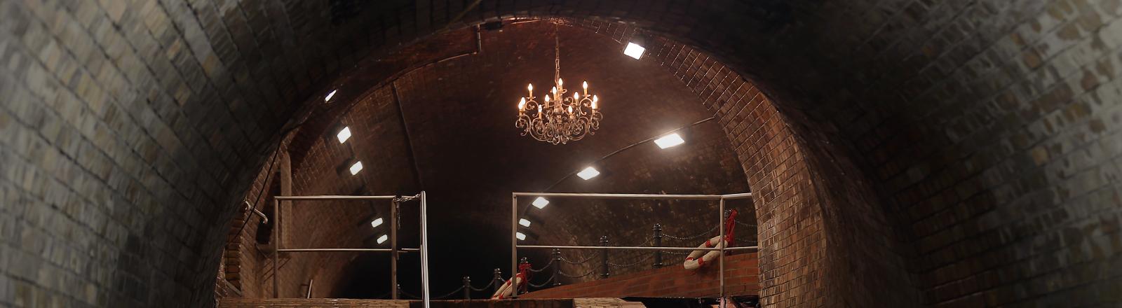 Der Kronleuchtersaal in der Kölner Kanalisation