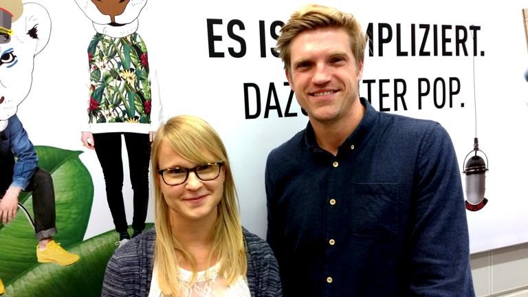 Conny Nutsch ist Flüchtlingspatin im Gespräch mit Thilo Jahn