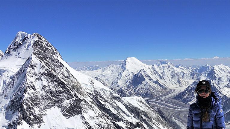 Vor dem Gipfelanstieg