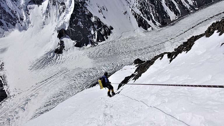 Abstieg vom K2