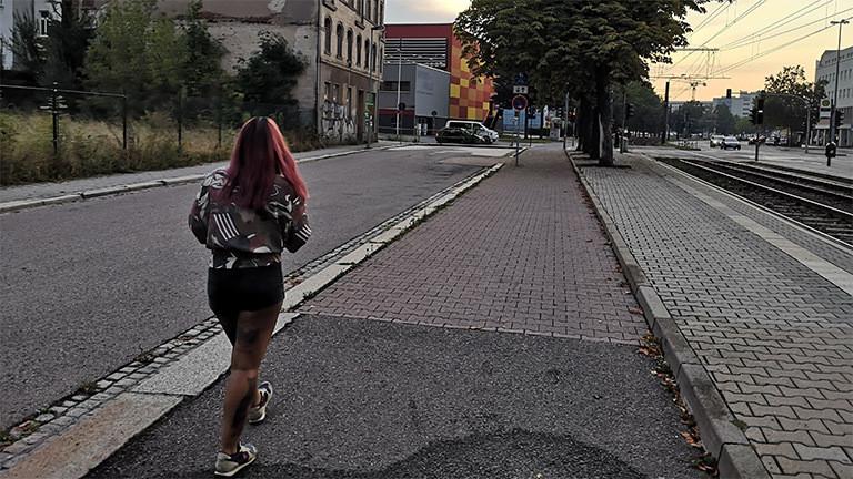 Melanie Müller in Chemnitz