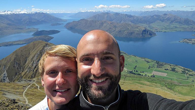 Martin Merten / Carolin Steig in Neuseeland