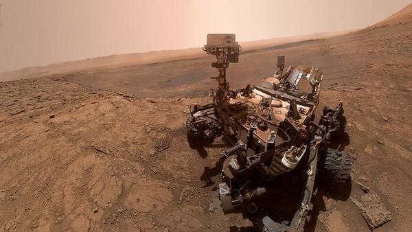 Selfie vom Marsrover Curiosity
