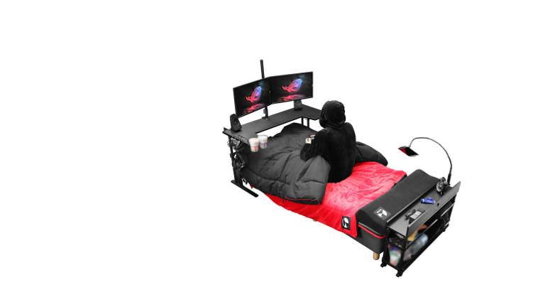 Gaming in der Isolation: ein japanischer Möbelhersteller hat dieses Angebot für Spielende entwickelt