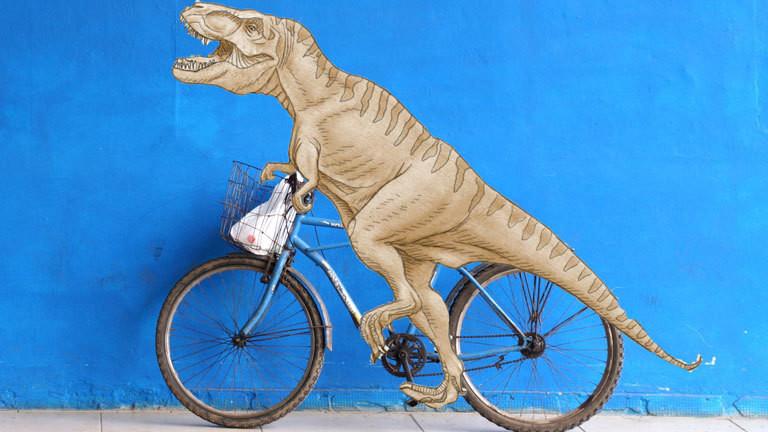 Tyrannosaurus Fahrrad