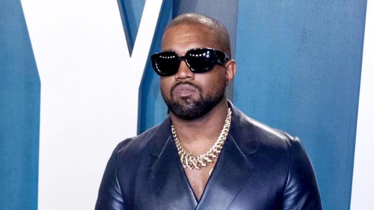 Kanye West nimmt am 9. Februar 2020 an der Vanity Fair Oscar Party im Wallis Annenberg Center für darstellende Künste in Beverly Hills, Los Angeles, USA teil.