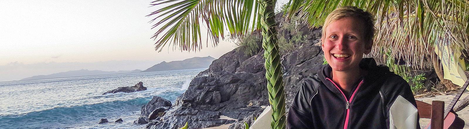 Carolin Steig auf Fidji