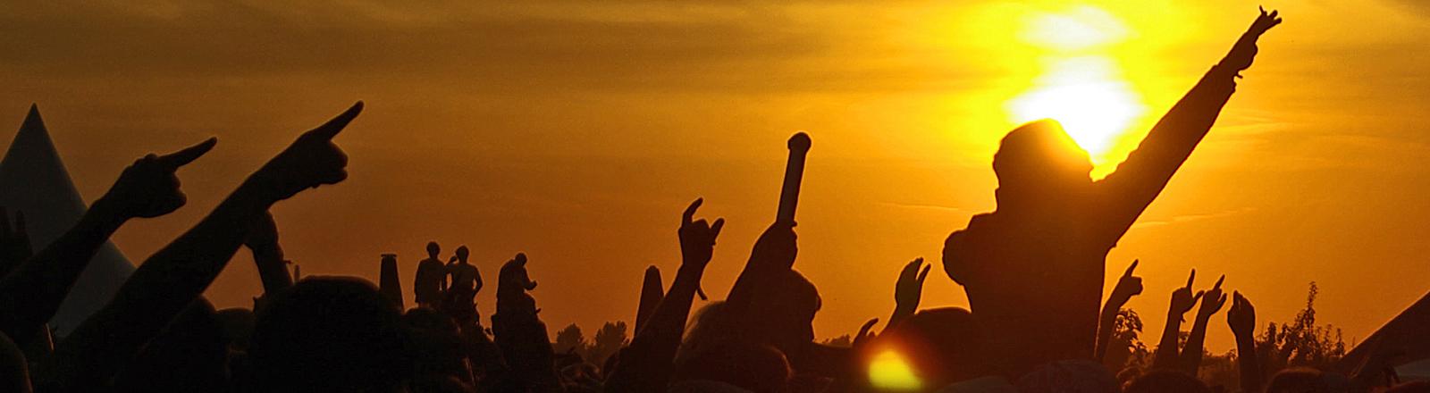 Publikum bei einem Festival