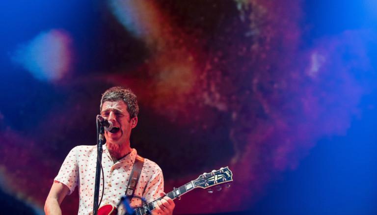 Noel Gallagher bei einem Konzert in Manchester